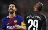 'Mbappe... chuyên nghiệp hơn Messi'