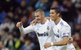 Đồng loạt nổ súng, Benzema và Ronaldo gia nhập top huyền thoại Real