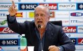 SỐC: Chủ tịch Napoli tuyên bố 'bỏ' trận đấu với Man City