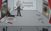 Biếm họa: Messi hóa thánh, Mourinho chia quà cho Klopp
