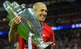 Không chỉ Messi, Robben cũng đã cán mốc 100