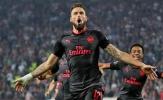 Olivier Giroud tiết lộ bí mật đằng sau siêu phẩm vào lưới Crvena Zvezda
