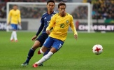Neymar hỏng penalty, Brazil vất vả vượt qua Nhật Bản
