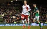 Lord Bendtner nổ súng, Đan Mạch dập tắt giấc mơ World Cup của CH Ireland