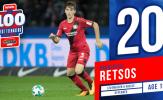 Top 100 cầu thủ trẻ xuất sắc nhất năm 2017 (Phần 9): Không hổ danh Bundesliga