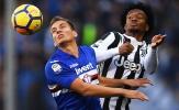 Highlights: Sampdoria 3-2 Juventus (Vòng 13 Serie A)
