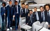 Ronaldo và dàn sao Real như nam thần đặt chân đến đảo Síp