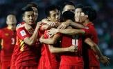ĐT Việt Nam bỏ Thái Lan 7 bậc trên bảng xếp hạng FIFA tháng 11