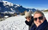 Schweinsteiger và vợ Ivanovic đón con đầu lòng