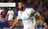 Về thành tích này, duy nhất Benzema sánh ngang Messi