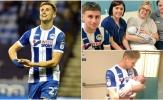 Vừa lập cú đúp, sao Wigan xin rời sân để đón con chào đời