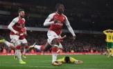 Góc Arsenal: Khi Wenger bảo vệ Eddie Nketiah