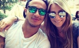 Vợ sao Bayern động viên chồng sau chấn thương cực nặng
