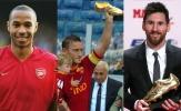 Điểm lại 10 siêu sao nhận giải 'Chiếc giày vàng châu Âu': Ronaldo, Messi vẫn vô đối