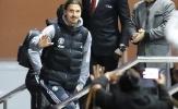 Được hứa hẹn suất đá chính, Ibrahimovic tươi tắn vẫy tay chào NHM ở Lowry