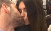 Pjanic khoe ảnh 'khóa môi' với bạn gái mới Francesca