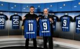 Mauro Icardi được huyền thoại Inter đích thân tặng quà