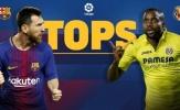 Thống kê đáng chú ý trước trận Barcelona - Villarreal