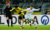 Aubameyang lập kỉ lục, Dortmund vẫn bị đội áp chót bảng hạ nhục