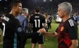 Mourinho nhắn gì với Ronaldo sau danh hiệu Ballon d'Or 2017?