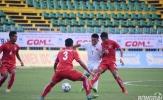 HLV Trần Minh Chiến hài lòng khi cầm hòa U21 Myanmar