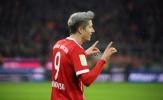 'Gã đầu bạc' Lewandowski lại thăng hoa, Bayern thắng nhọc