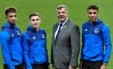 Everton trói chân một lúc 3 sao trẻ
