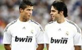 Ronaldo, Rô béo và đội hình đồng đội vĩ đại nhất của Kaka