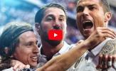Top 10 cầu thủ Real Madrid xuất sắc nhất năm 2017