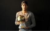 Đầu năm 2018, Neymar cũng đã có bóng vàng cho riêng mình