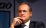 Chủ tịch Lazio được 12 CLB ủng hộ làm chủ tịch FIGC