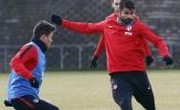 Diego Costa sẵn sàng cho trận đại chiến với Sevilla