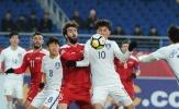 U23 Hàn Quốc 0-0 U23 Syria (VCK U23 châu Á 2018)