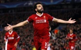 Salah cân bằng kỉ lục của Gerrard và Sturridge