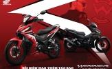 Honda WINNER 150 phối màu mới phong cách cùng tem xe riêng biệt - Đổi diện mạo, thêm táo bạo