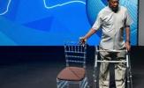 Huyền thoại Pele đã có thể tự đi lại trong sự kiện tại Rio