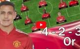 Dự đoán đội hình Man Utd khi có Alexis Sanchez