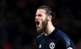 De Gea chưa muốn gia hạn với Man Utd
