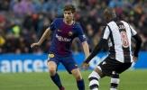 Chính thức: Barcelona trói chân thành công Sergi Roberto