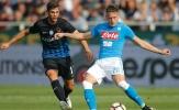 18h30 ngày 21/01, Atalanta vs Napoli: Coi chừng mất ngôi đầu