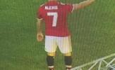 Lộ ảnh Alexis Sanchez mặc áo số 7 của Man Utd