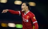 Lực lượng của Liverpool: Van Dijk là sự thay đổi duy nhất