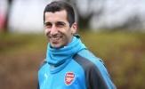 Henrikh Mkhitaryan mặc áo số 7, tập buổi đầu cùng Arsenal