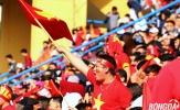 Sân Hàng Đẫy 'hồi sinh' trong buổi Offline cổ vũ U23 Việt Nam