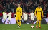 Vắng Diego Costa, Atletico bất lực, chia tay Cúp Nhà Vua