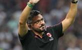 Milan kéo dài chuỗi bất bại, Gattuso sắp nhận quà lớn
