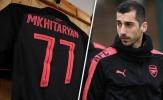 Mkhitaryan trình làng số áo lạ hoắc ở Europa League