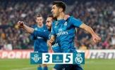Real Madrid đi vào lịch sử La Liga