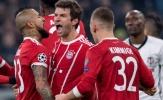 Highlights: Bayern Munchen 5-0 Besiktas (Vòng 1/16 Champions League)