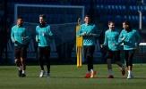 Nụ cười đã trở lại trên sân tập Real Madrid